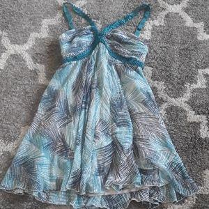 Bcbgmaxazria size 2 mini summer dress